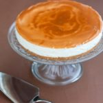 cheesecake alla vaniglia con salsa mou 1