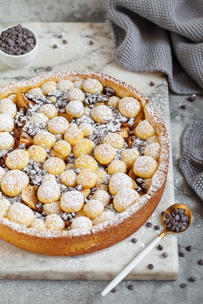crostata cioccolato e pere-1
