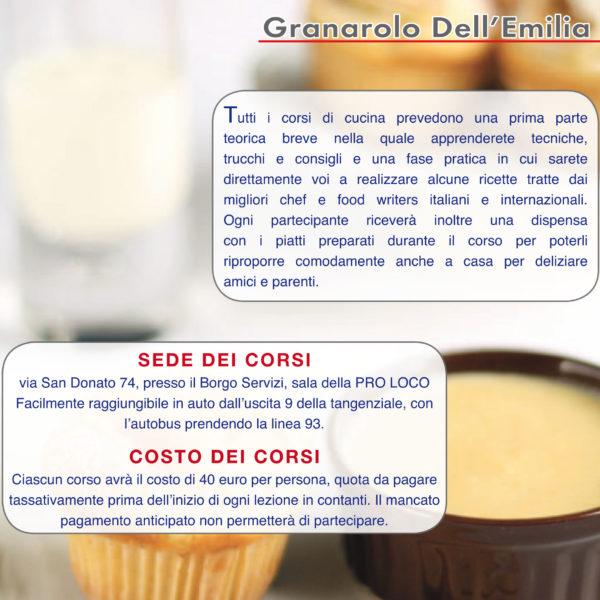 Una piccola novità: i miei corsi di cucina, a Bologna.