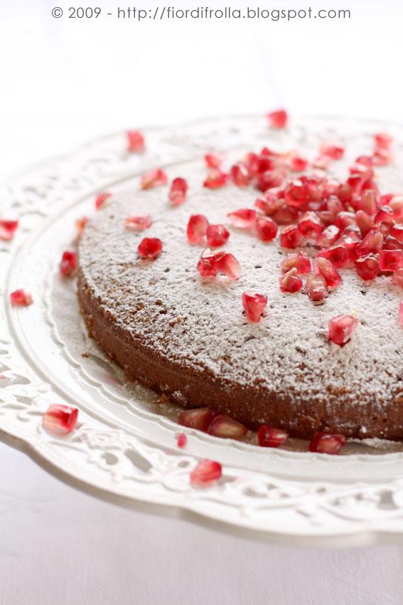 torta di melagrane