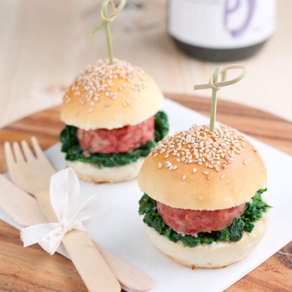 Mini hamburger emiliani