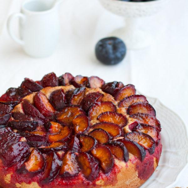 Pflaumenkuchen o torta di prugne