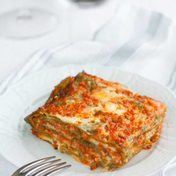 Lasagne verdi alla bolognese. La ricetta di famiglia.