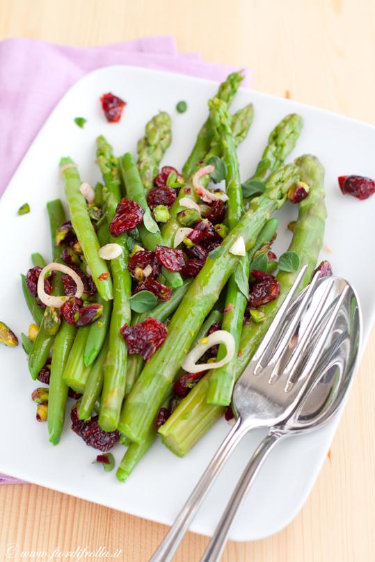 insalata di asparagi e fagiolini