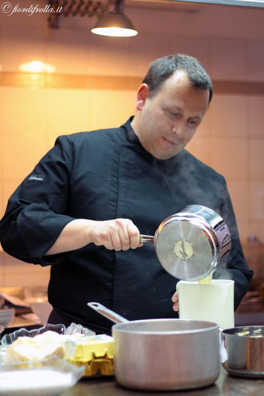 Una serata in cucina con Maurizio Santin e l'Accademia del Sapore Lagostina intervista e una ricetta