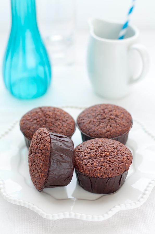 Friands al cioccolato e nocciole 2