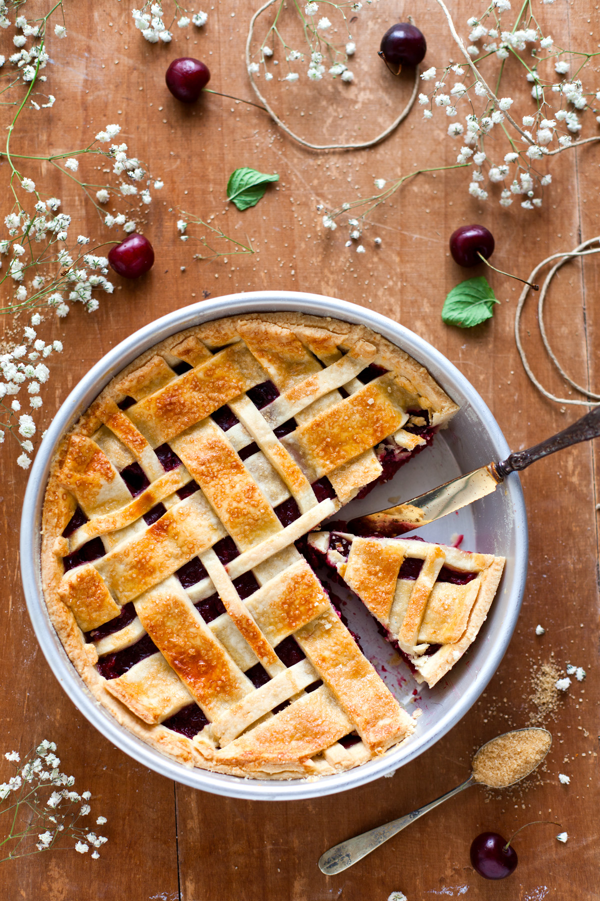 cherry pie alla cannella 1