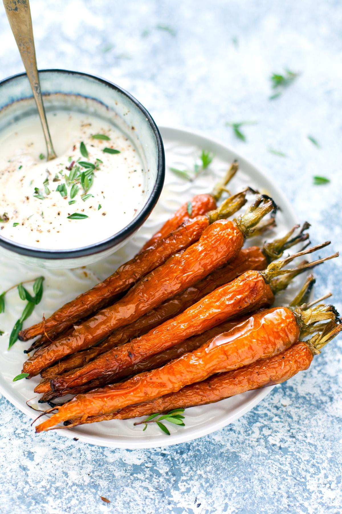filetto di manzo alle spezie con carote e salsa allo yogurt 6