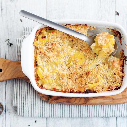 crumble salato di patate e sedano rapa-2