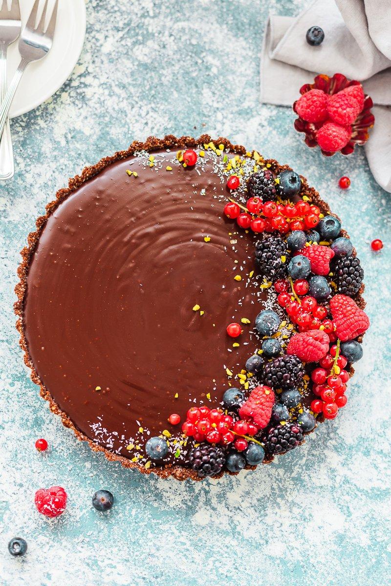 torta fredda al cioccolato-3