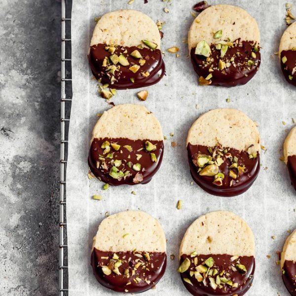 biscotti al burro e cioccolato -5