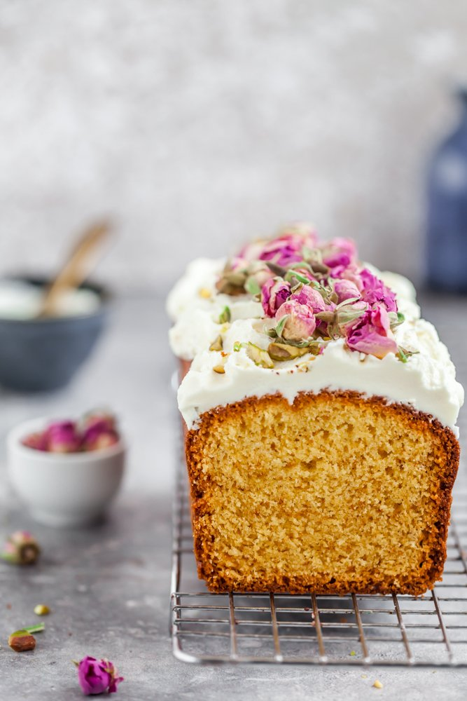 Plum cake al cioccolato bianco -2