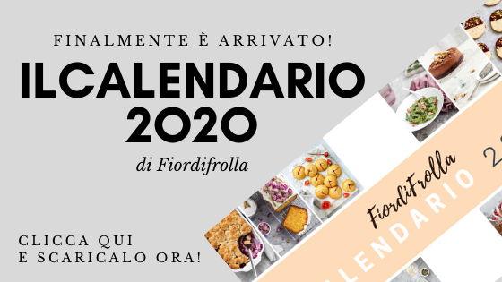calendario 2020 Fiordifrolla