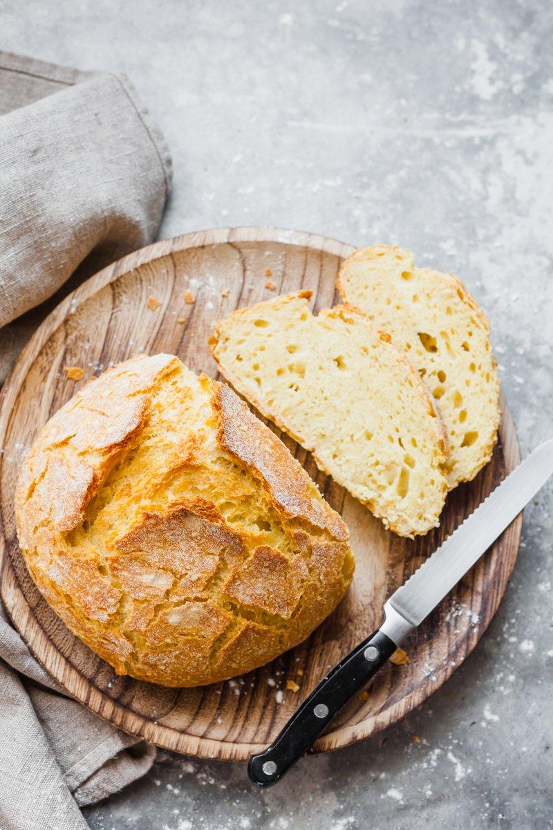 pane senza impasto -7