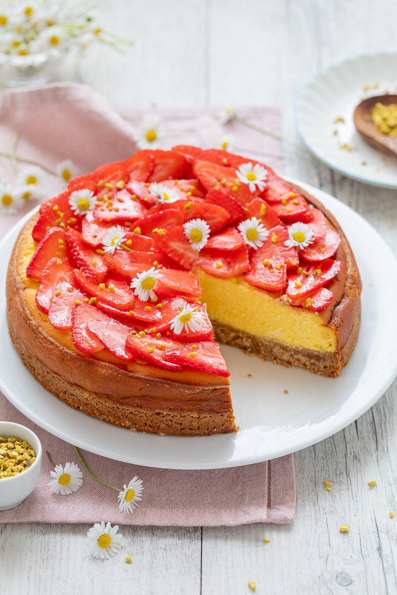 cheesecake alle fragole-3