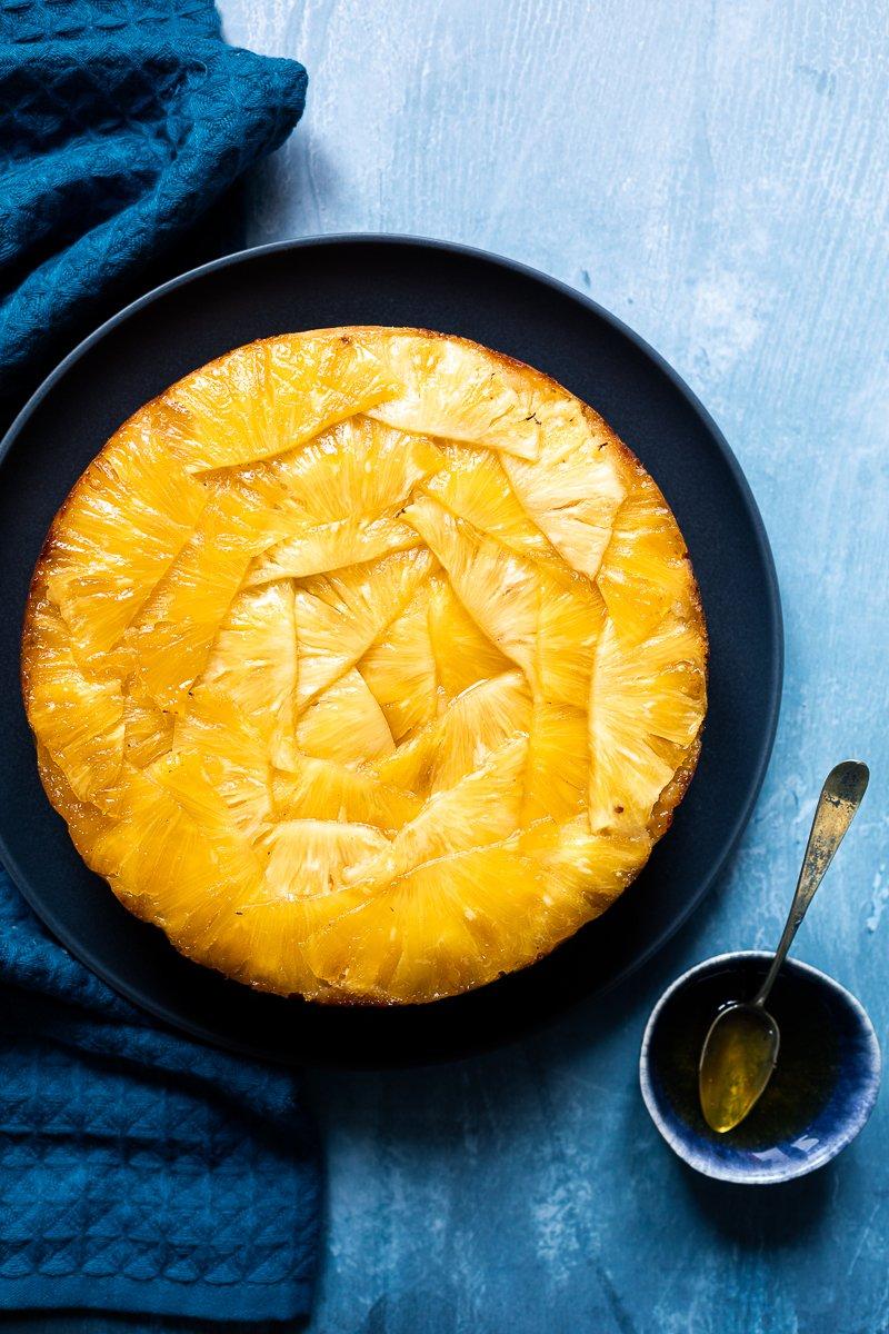 torta rovesciata all'ananas-1