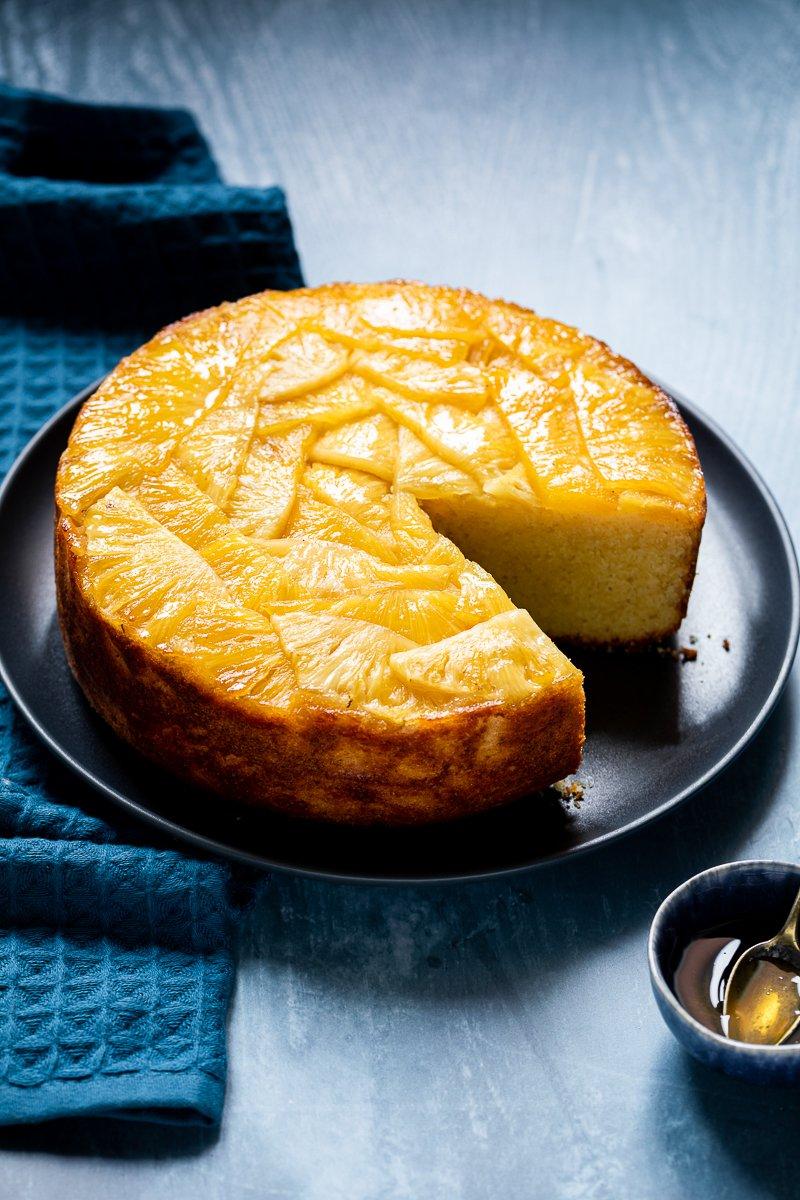 torta rovesciata all'ananas-3