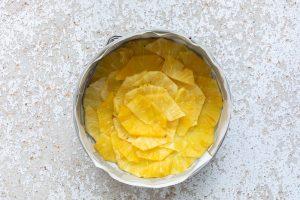 torta rovesciata all'ananas step-3