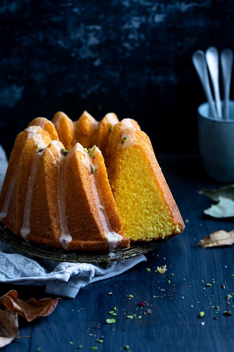 bundt cake allo zafferano-3