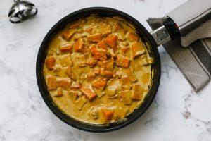 curry di ceci e zucca step-4