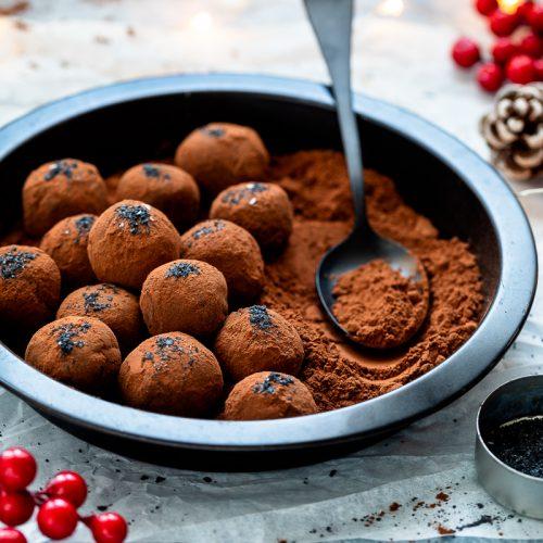 tartufi al cioccolato senza lattosio-1